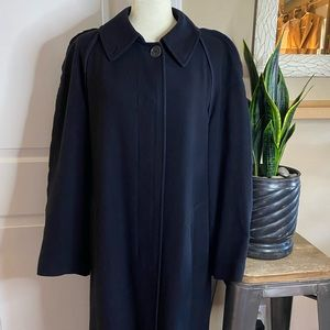 Allegri Made in Italy Maxi Wool Raw Hem Coat